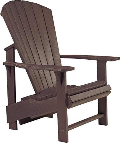 Recycled Plastic Upright Adirondack Chair