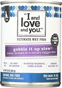 I and love and you Gobble It Up Stew Canned Dog Food, 13 oz.