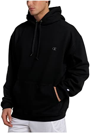 Champion Super Hood® Fleece Men`s Hoodie with Small Embroidered C Logo,  S2202, S at Amazon Men's Clothing store:
