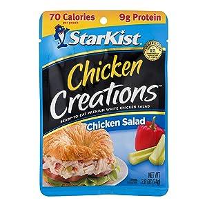 StarKist Chicken Creations, Chicken Salad, 2.6 oz Pouch (Pack of 12)