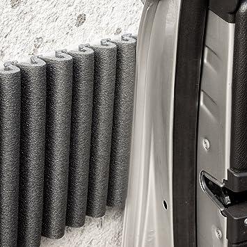 Wand Stoßfänger Von Leggerodesign Selbstklebende Türkantenschutz Auto Wasserabweisend Garagen Wandschutz Jedes Paket Enthält 2 Streifen 1 35m X 17cm Auto
