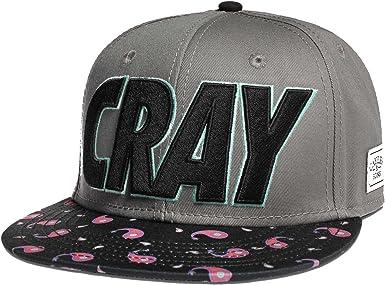 Cayler and Sons – Gorra con visera plana Cray, gris oscuro y negro ...