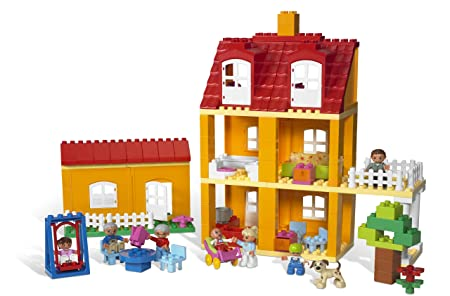 Lego Duplo Puppenhaus 2 9091 Neu 125 Tlg Amazon De Spielzeug