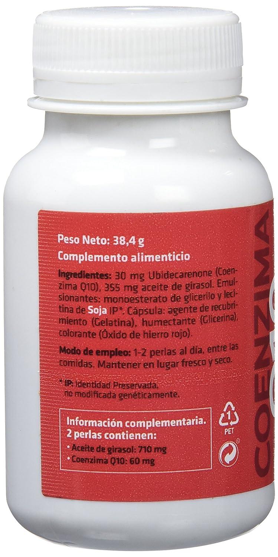 Sotya Softgels, Coenzima Q10, 60 Perlas, 640 mg: Amazon.es: Salud y cuidado personal
