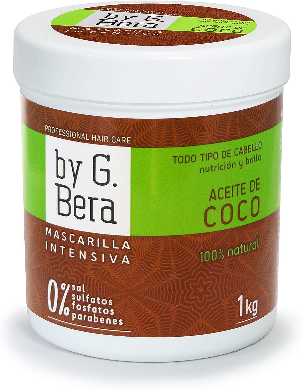 Mascarilla Profesional - By G. Bera- ACEITE DE COCO 100% NATURAL