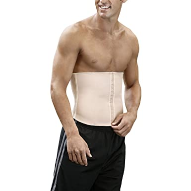 485e8f24d4 Amazon.com  Kepawel Men s Firm Compression Waist Cincher Core 1  Clothing