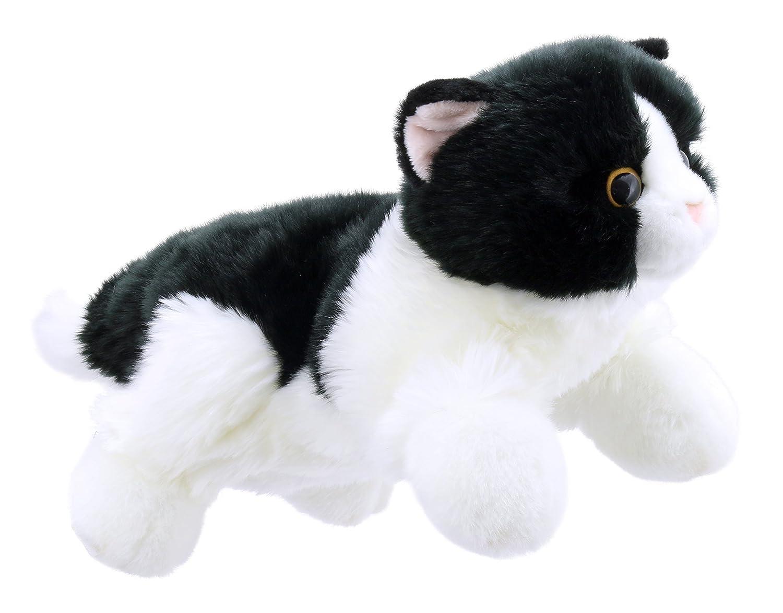 The Puppet Company - Marionnettes animaux complets - Chat noir et blanc PC001827