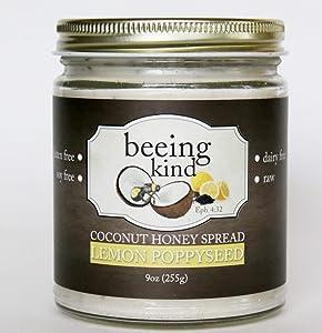 Lemon Poppyseed Coconut Honey Spread