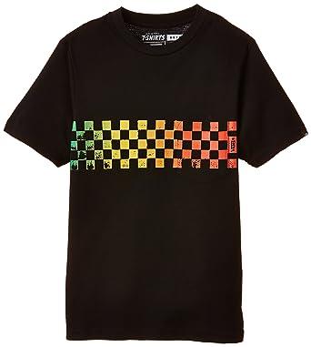 eed0aa169b Vans Boy s B CHECK BAND BOYS BLACK T-Shirt