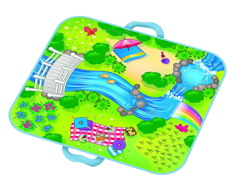 Everyday Princess ZipBin 40 Pony Rainbow Park w// 1 Pony Neat-Oh A1089X1