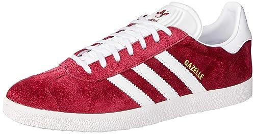zapatos adidas hombres rojo