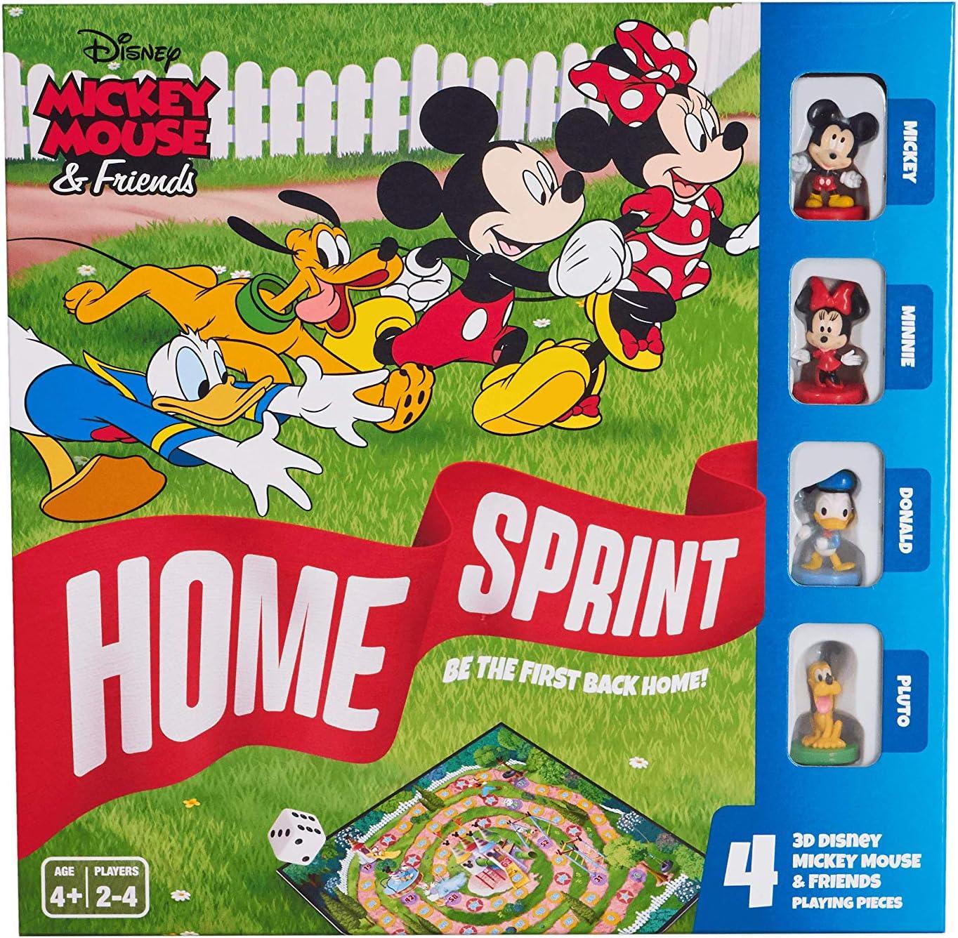 Cartamundi Mickey & Friends Home Sprint Juego de Mesa, Multicolor: Amazon.es: Juguetes y juegos
