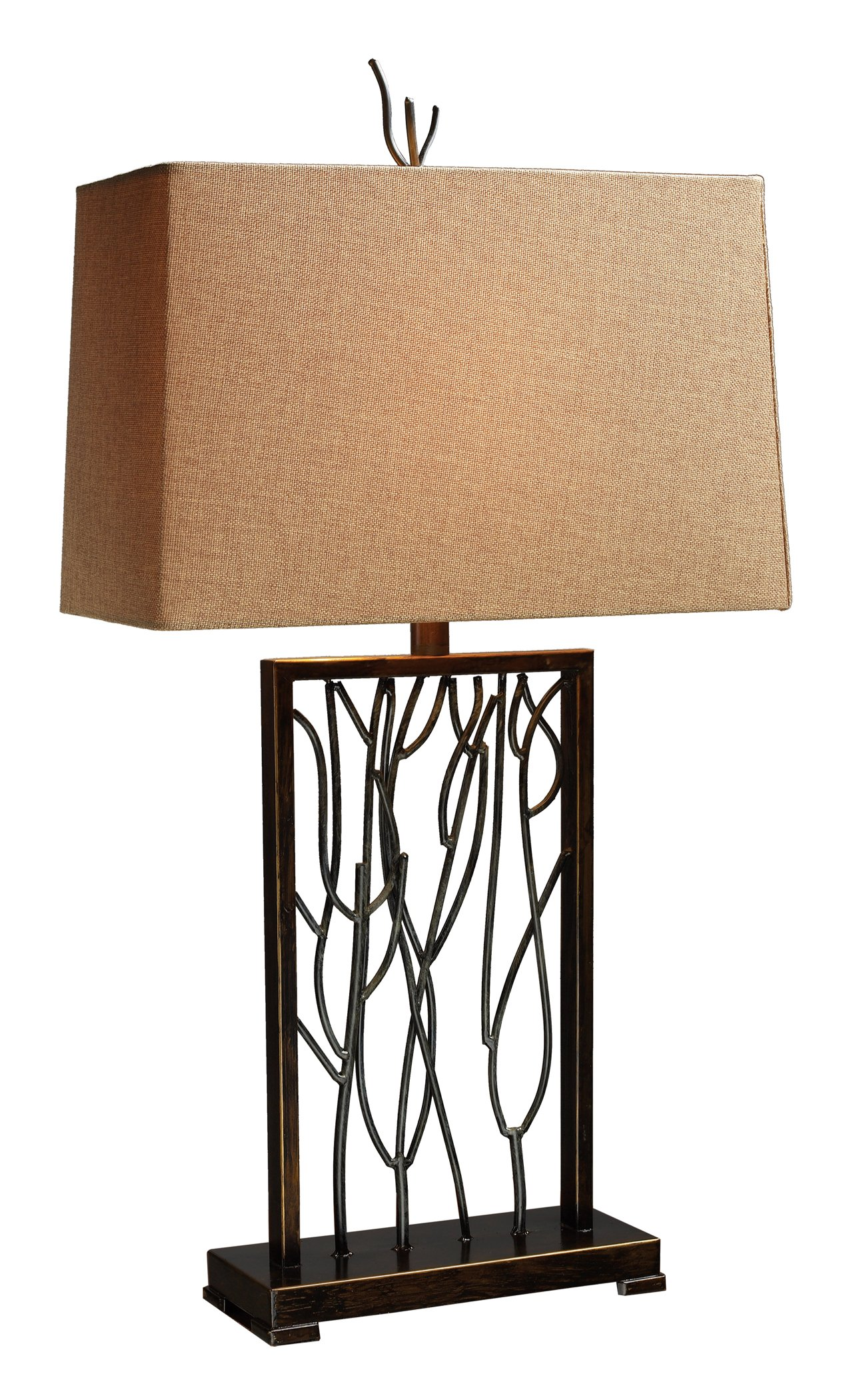 Dimond D1518 Belvior Park Table Lamp, Aria Bronze and Iron by Dimond Lighting