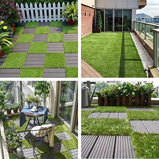 JL Comfurni - Baldosas de terraza, 30 x 30 cm, 1 baldosa para jardín, Patio, terraza y Otros diseños de Interiores y Exteriores: Amazon.es: Jardín