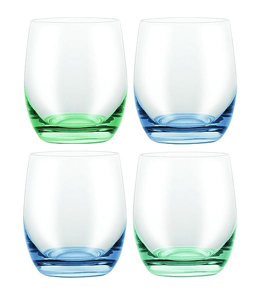 David Shaw BC251-300BG Bohemia Confetti Stemless Glass 4 Asst\u0027d Blue|Green  sc 1 st  Amazon.com & Amazon.com - David Shaw BC251-300BG Bohemia Confetti Stemless Glass ...