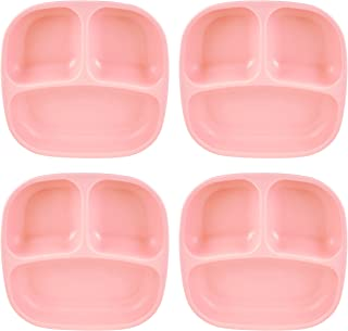 product image for Re-Play Recycled Products Small Divided Plates, Set of 4, Blush