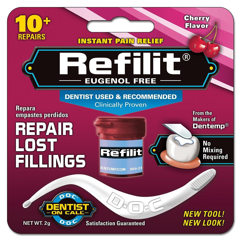 Refilit Lost Filling Repair, Cherry, (Pack of 6) DEN0437U