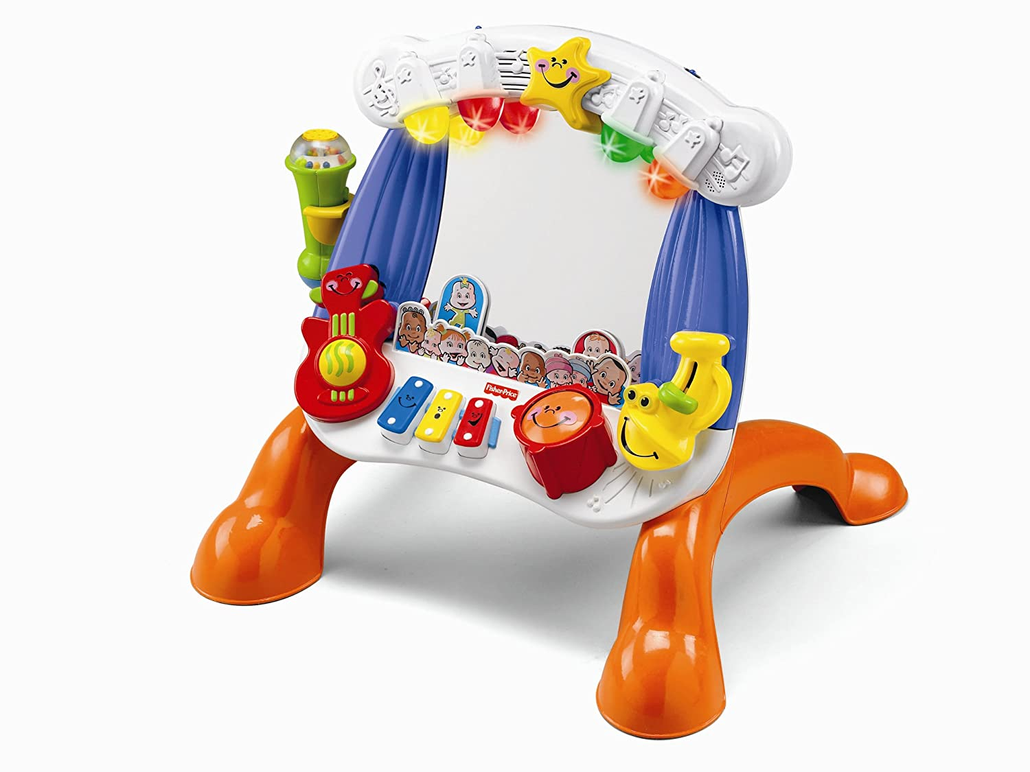 Amazon.com: Fisher-Price Little Superstar Sing-Along Stage: Toys & Games