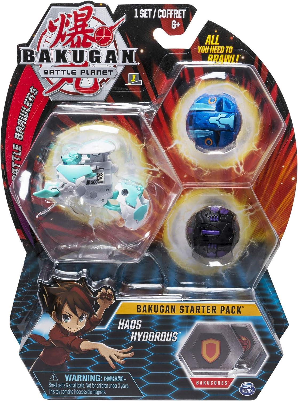 Bakugan Starter Pack Haos Hydorous (BIZAK 61924426): Amazon.es ...