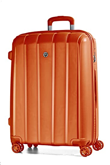 5276350f333d march Aspen 4-Rad Trolley 77cm orange mandarin: Amazon.de: Koffer ...
