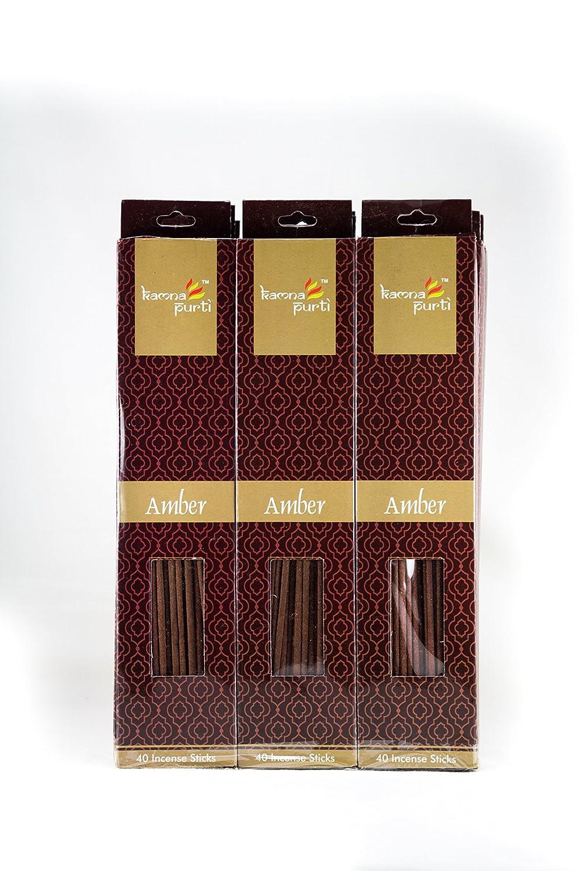お得セット SBF Crafts 12セットIncense Sticks (40 & Aroma Sticks/各) Amber Highly Incense Fragrance Incense Infused with Essential Oilsパーティ用理想的、Spa & Aroma Therapy。 B06X6JGF4B, スイングシューズ:99f0ed48 --- arianechie.dominiotemporario.com