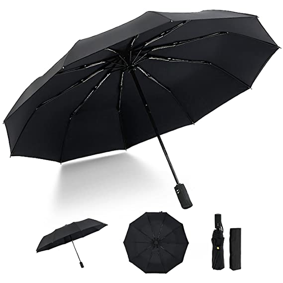 f1c9acaa1ec0 Amazon.com: HEHE Compact Travel Umbrella/Windproof Double Layer ...