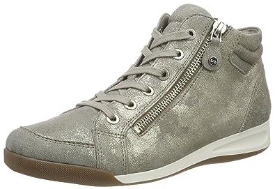 ara Damen Rom Stf 12 44410 Hohe Sneaker, Grau (Chiara), 37