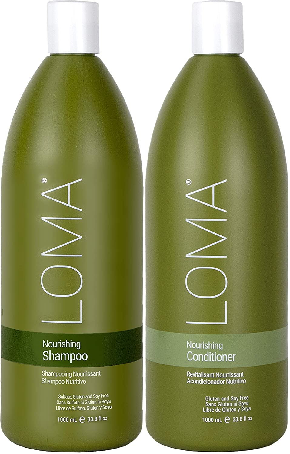 Loma Hair Care Nourishing Shampoo & Conditioner Duo
