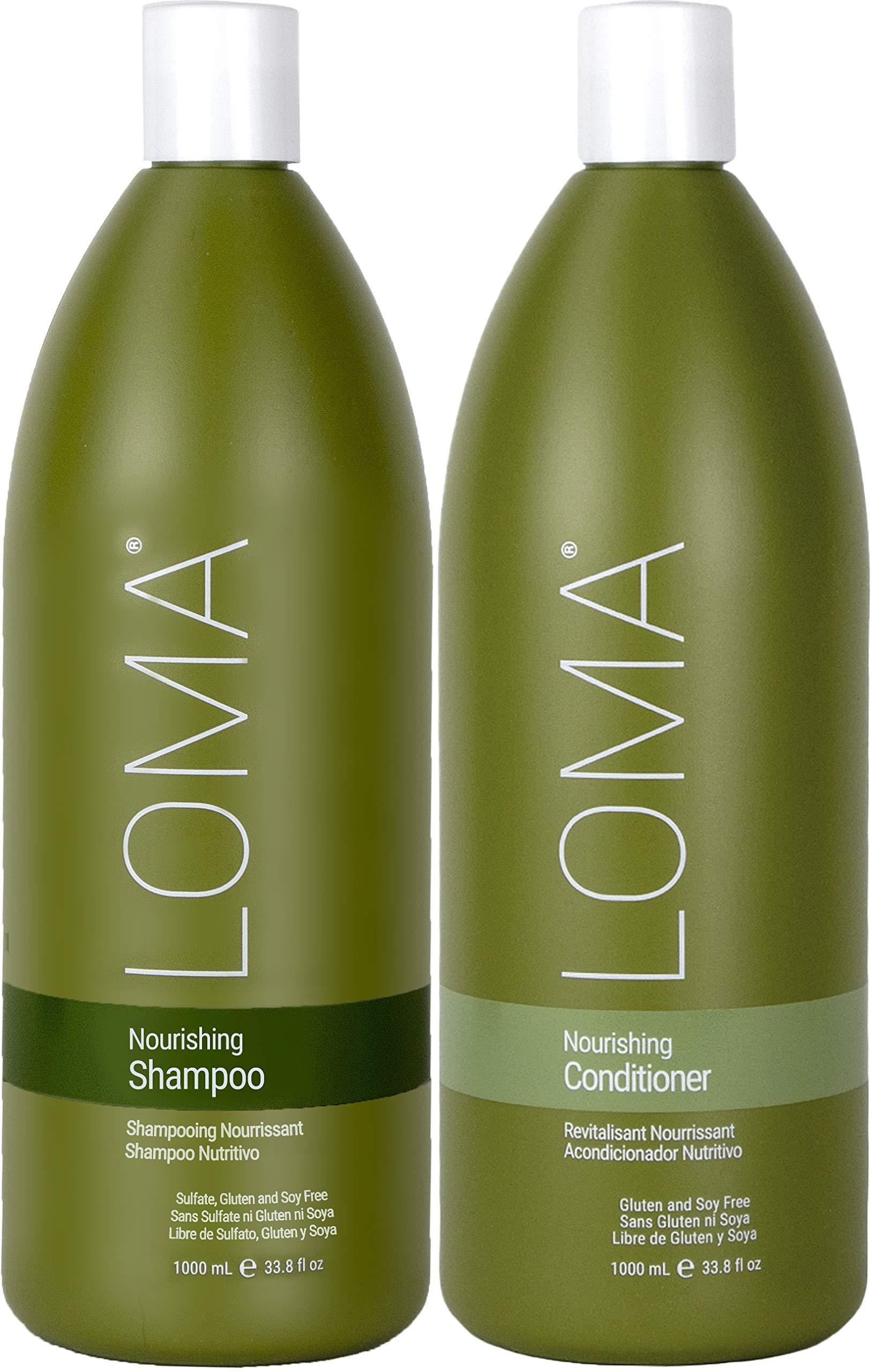 Loma Hair Care Nourishing Shampoo Nourishing Conditioner Duo, 33 oz.