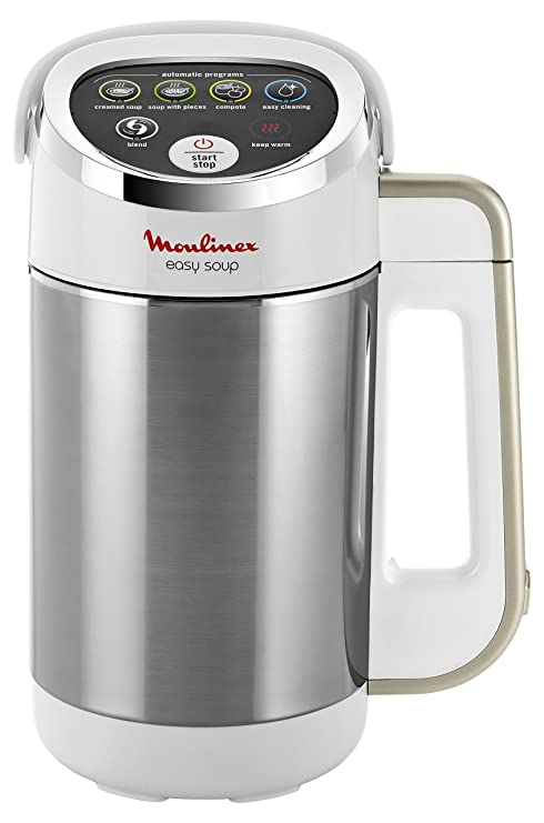 Moulinex LM841110 Máquina para hacer sopa, 980 W, 1.2 L, color plateado