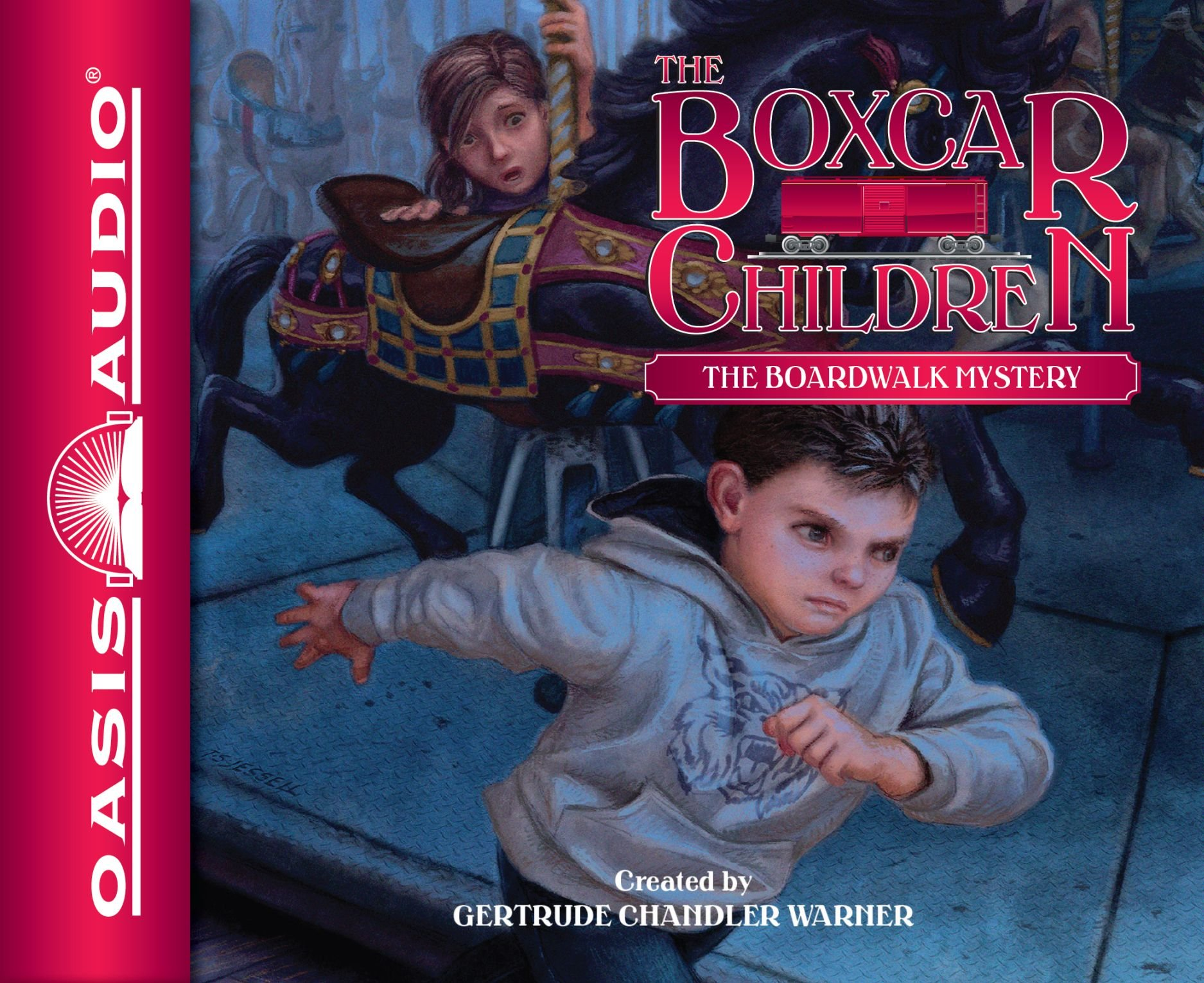 The Boardwalk Mystery (Library Edition) (The Boxcar Children Mysteries) PDF