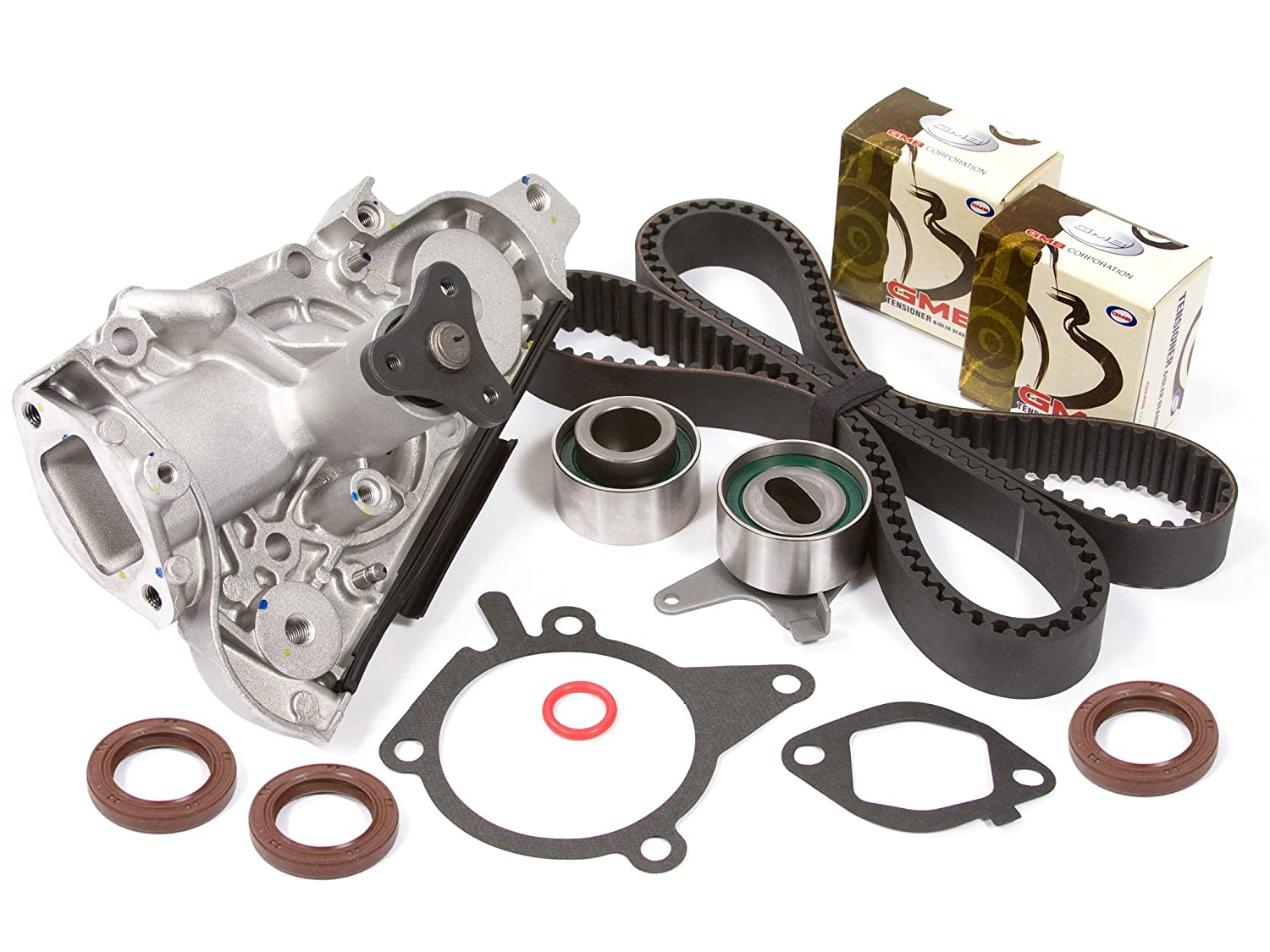 Amazon.com: Evergreen TBK179WPT2 94-05 Mazda Miata MX-3 Protege Kia Sephia  1.6 1.8 DOHC 16V B6 BP Timing Belt Water Pump Kit: Automotive