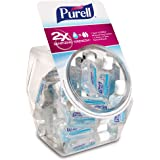 PURELL Advanced Hand Sanitizer Refreshing Gel, Clean Scent, 1 fl oz Flip-Cap Bottle with Display Bowl (Pack of 36…