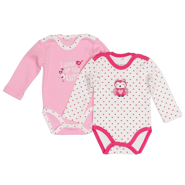 Salt /& Pepper Baby Girls Bodysuit