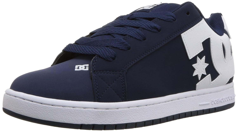 DC Men's Court Graffik Skate Shoe 9.5 D D US|Navy White