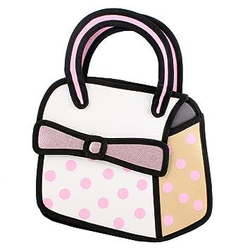 Amazoncom D Jump Style D Drawing From Cartoon Paper Bag Comic - Cartoon handbags