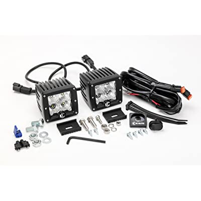 "KC HiLiTES (332) C3F 3"" 12W LED Flood Beam System: Automotive"