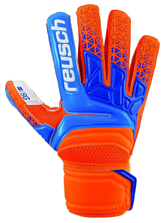 ロイシュSoccer Prisma SGゴールキーパーグローブ B0792R1T5Mオレンジ/ブルー 7