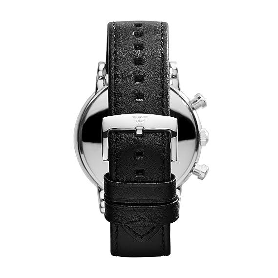 Amazon.com: Emporio Armani AR1828 Mens Luigi Black Chronograph Watch: Watches