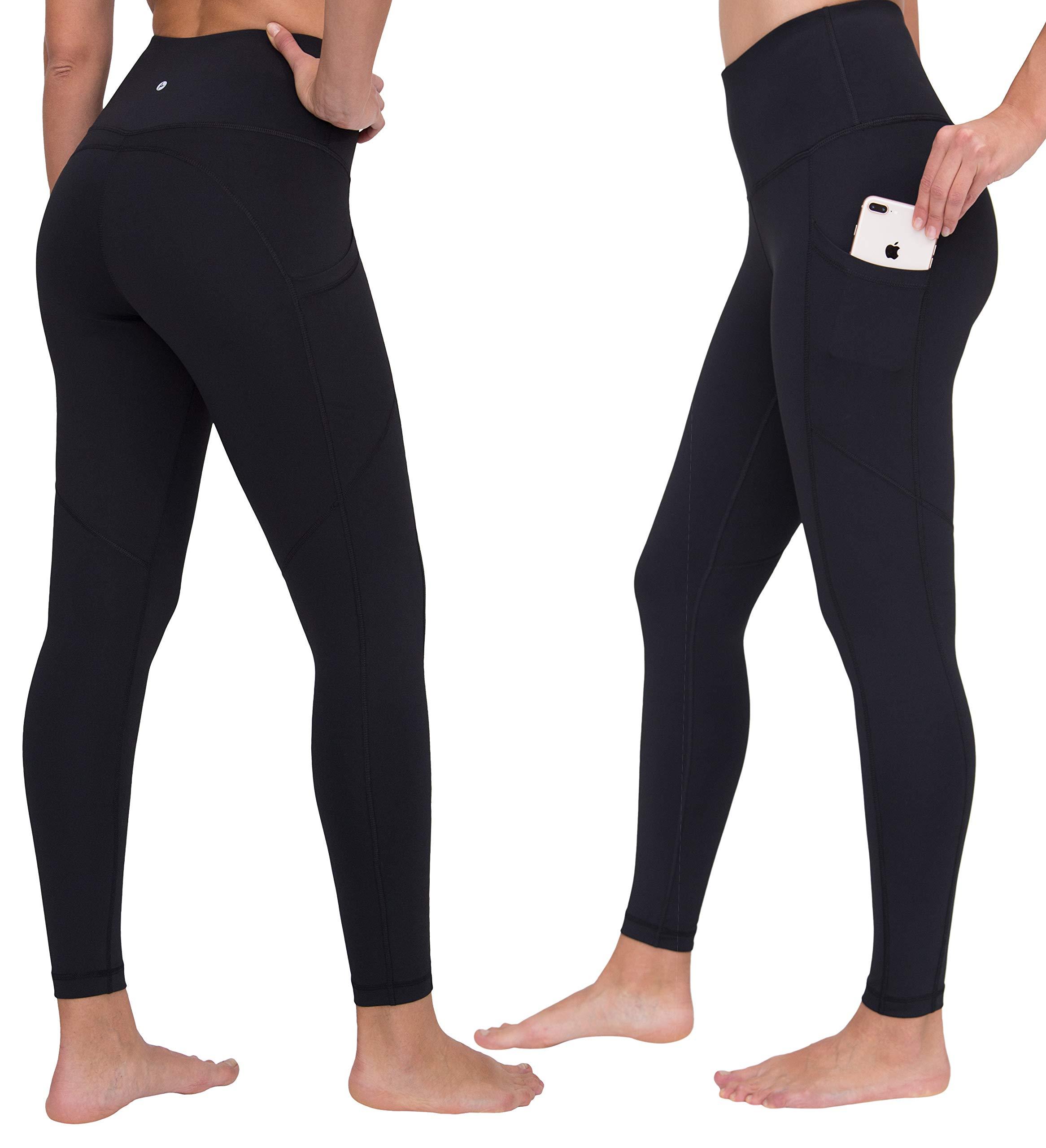 90 Degree By Reflex Women's Power Flex Yoga Pants - Black 2 Pack 2019 - Medium by 90 Degree By Reflex
