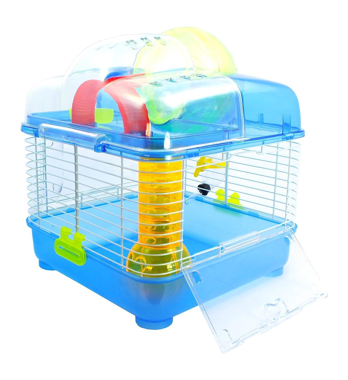 Jaula para hamster o pequeño roedor - Modelo Escalada: Amazon.es ...