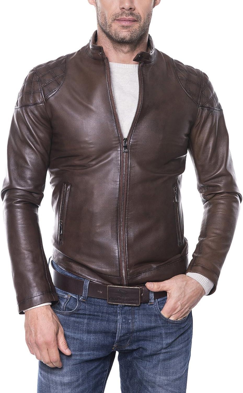 Giorgio Di Mare Cazadora Piel Men's Leather Jacket