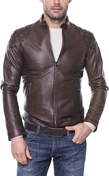 GIORGIO DI MARE Lederjacke Men'S Leather Jacket | Leather