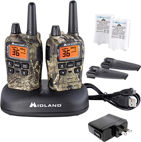 Midland X-Talker T65VP3 Two-Way Radios 2-Pack//Mossy Oak Break Up Country Camo