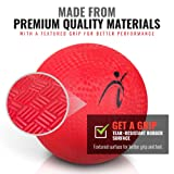 Official Size Kickball with Pump - 10 Inch Rubber