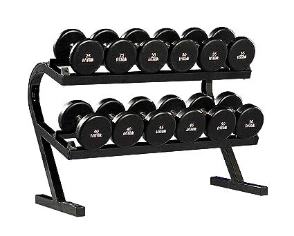 Powertec Fitness p-dr dos niveles mancuerna Rack