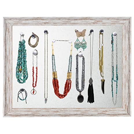 Amazoncom Jewelry Display Organizer Wall Mount Large Magnetic