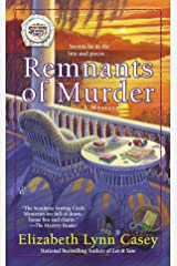 Remnants of Murder (Southern Sewing Circle Mystery) Mass Market Paperback