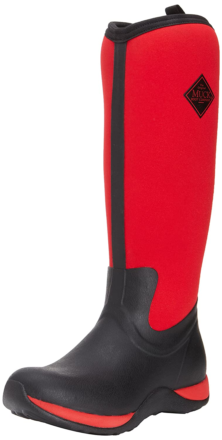 MuckBoots Women's Artic Adventure Snow Boot B00IHWA814 8 B(M) US|Black/Red