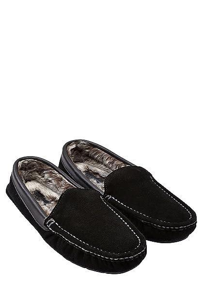 next Hombre Luxury Mocasines De Ante Pantuflas De Estar por Casa Suave: Amazon.es: Zapatos y complementos